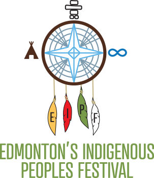 logo for the Edmonton Indigenous People's Festival happening on June 22, 2019