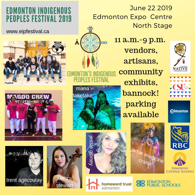 photo of the Edmonton Indigenous People's Festival for 2019